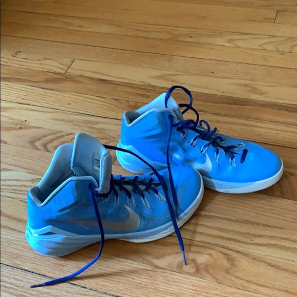 Nike Basketball Shoes Carolina Blue